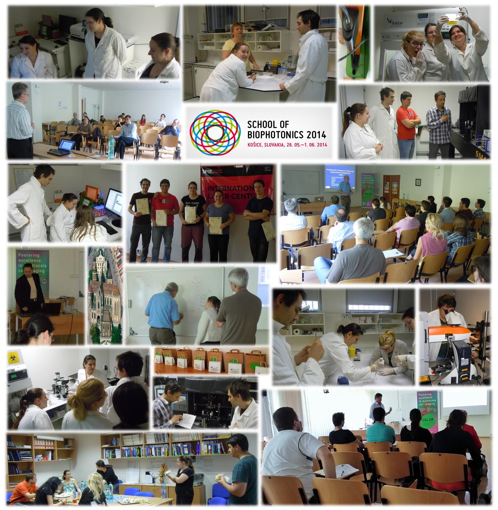Conference SCHOOL OF BIOPHOTONICS 2014